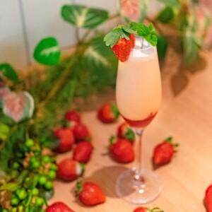 """[2月限定]Truffle Farm仿佛""""好像作為布丁的溫和的草莓雞尾酒"""""""