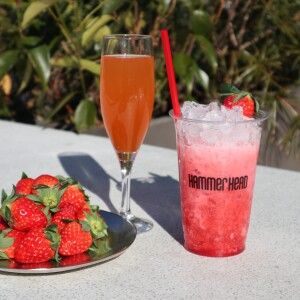"[February-only] OCEAN BAR ""cocktail of strawberry"""
