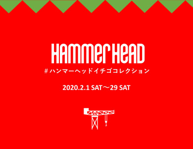 [February] Hammerhead strawberry collection 2020 is held!