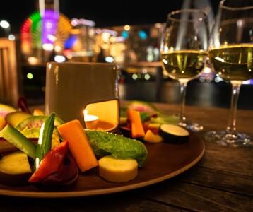 《Dinner》厳選野菜を使ったトリュフファームコース!
