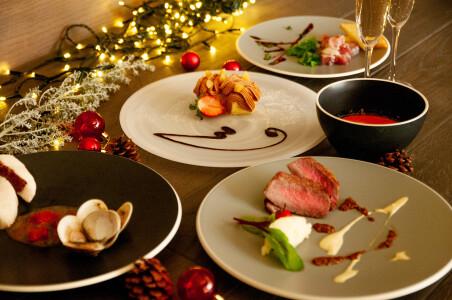 【クリスマス限定(12/21~25)】クリスマスディナーコースご予約受付中!