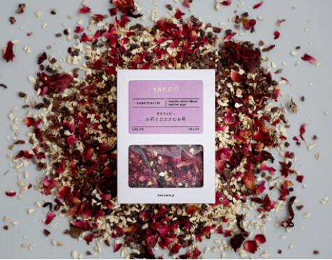 ティーパック「お花とカカオのお茶」(6pcs)
