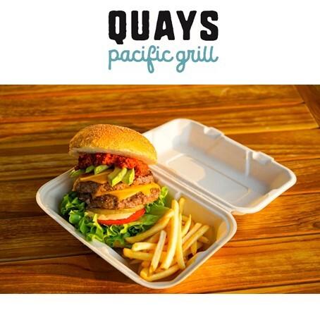 【QUAYS pacific grill】テイクアウト・デリバリー